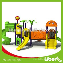 EN standard manufacture plastic kids play equipment for parks, factory price kids play equipment