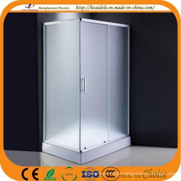Mat Glas Rechteck Tablett Dusche (ADL-8001)