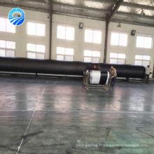 Airbag gonflable pneumatique de flotteur à haute pression en caoutchouc naturel