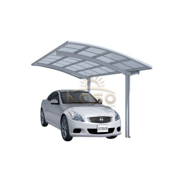 Cobertizo moderno Carile Cantilevered Car Canopy Snow