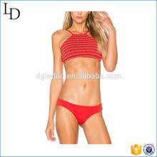 Soutien-gorge frais de couleur et shorts bikini maillots de bain micro bikini mature