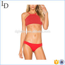 Fresh color bra and shorts bikini bathing suits micro mature bikini