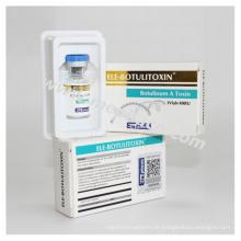 Anti-Falten Verwenden Sie Botulinum ein Toxin 100iu mit hoher Qualität und guter Preis