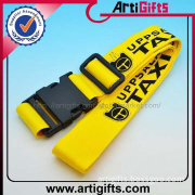 Custom logo polyester belt for luggage case