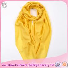 Lnner Монголии фабрики сплошной цвет 72 окрашенная пряжа шерсть пашмины равнина шарф