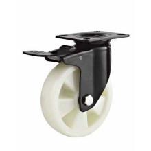 Roues à chariot à roulement en PVC très résistantes aux PP