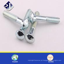 Parafuso de trilhos para encapsulamento e encaixe de tubos Victaulic
