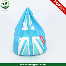 Clear light blue dripping /falling water customized beanbags/bean bags corner sofa