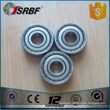 Miniature ball bearings 606zz ball bearings 6*17*6mm deep groove ball bearing