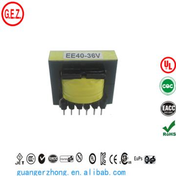 ROHS EE40 transformateur haute fréquence