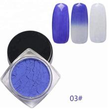 Poudre de changement de température, pigment thermochromique pour ongles, impression