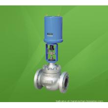Válvula de controle de assento elétrico atuado único com tipo de globo (GZDLP)
