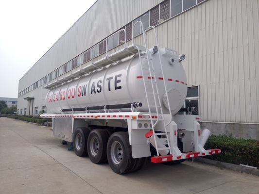30CBM Semi Trailer Vacuum Sewage Suction Tanker Truck