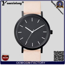 Yxl-317 Black Face Relógios de pulso Moda Ladies Watch Leather Strap Hottest The Horse Watch