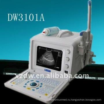 Портативный ультразвуковой &польностью цифровой блок развертки ультразвука DW3101A