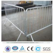 Venda quente pvc revestido barricadas pedestres galvanizados