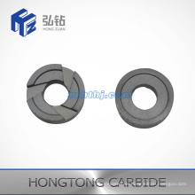 Wear Resistant Tungsten Carbide 3way Spiral Nozzles