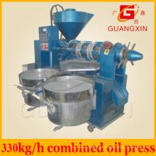 330kg / H de amendoim, gergelim, girassol, máquina de óleo de soja Yzyx130wz