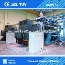 Diesel / Gaz 1 MW - Centrale à 100 MW à vendre