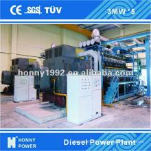 Diesel/Gas 1 MW- 100 MW Power Plant for sale