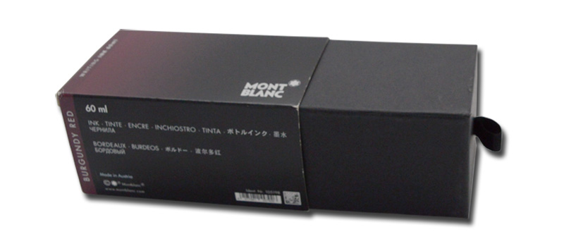 High End Male Colonge Packaging Sleeve Box Box