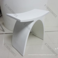 X Shape Marble Stone Durable Bath Shower Stool