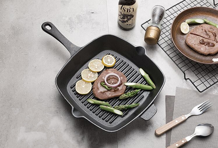 pre-seasoned grill pan