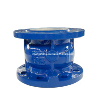 Cast Iron Flanged Type Axial Check Valve