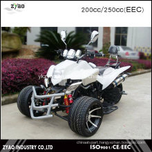 250cc Loncin Engine Water Cooled Quad ATV with EEC 3 Wheelers