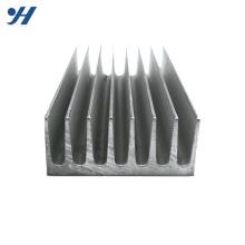 Radiateur en aluminium d'anodisé adapté aux besoins du client par amplificateur en aluminium pour le réverbère mené