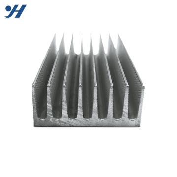 Dissipador de calor de alumínio anodizado personalizado OEM do amplificador para o revérbero conduzido