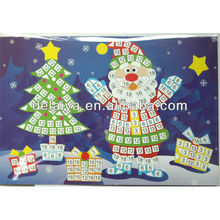 EVA mosaic sticker sheet for Christmas