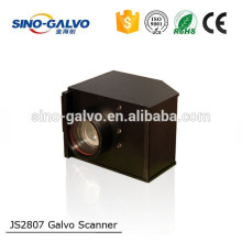 Sino-Galvo High Speed Model JS2807 16mm Beam Aperture Laser Head Galvanometer