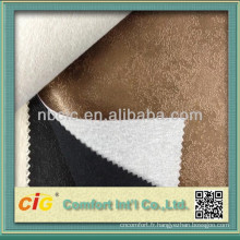 Bon prix PVC Stock en cuir