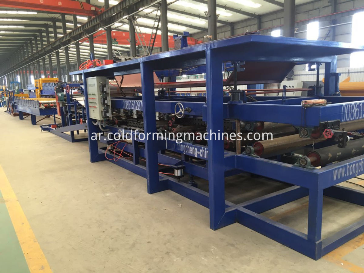 Main Body of Sandwich Panel Machine