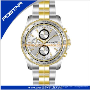 Melhor relógio cronógrafo de moda para homens com qualidade à prova d'água