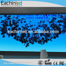 Lista de precios led pantalla P2.5 P3 interior LED exhibición de la publicidad / precio interior de la pared led