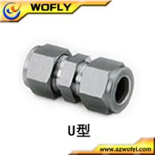 China Flexible 2-Zoll-Edelstahl-Verschraubung Rohrverschraubung
