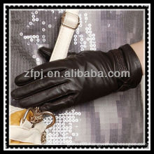 leather made brand glove logos