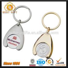 Custom advertising logo wholesale hotel key chain