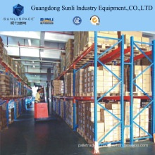 Single Deep Warehouse Storage Pallet Rack