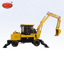 6.5 Ton Hydraulic Long Beam Wheel Excavator