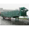 13.5m One Axle Vehicle Transport Semi Trailer