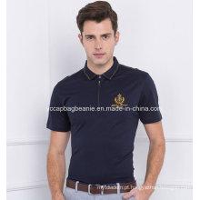 Pólo masculino dos homens de Mecerized, camisa dos homens