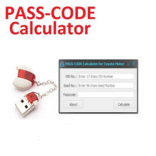 Pass Code Calculator for Toyota Lexus Scion Development Tool 11.00.019