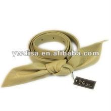 Nouvelle ceinture en cuir véritable avec une boucle