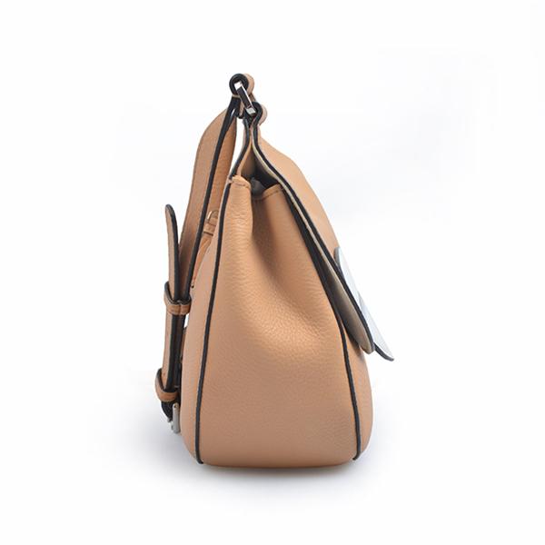 leather cover crossbody bag saddle shoulder bag