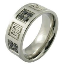 Модель ювелирных изделий кольца кольца нержавеющей стали отливки