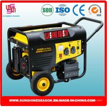 Generador de gasolina 5kw para el suministro casero con alta calidad (SP10000E2)