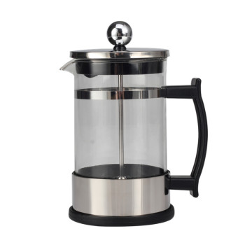Mecânica Humana Handle Design Glass French Press